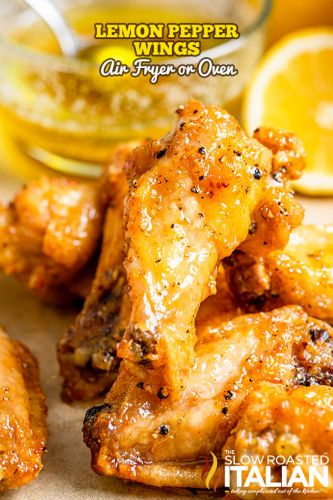 Lemon Pepper Wings + Video