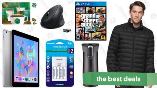 """Wednesday's Best Deals: """"Free"""" GTA, Winter Coats, $229 iPads, and More"""