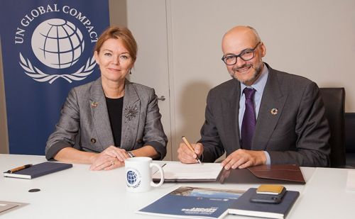 Tapestry signs onto UN Global Compact