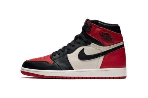 "Nike Blends Two Classic Air Jordan 1 Colorways With ""Bred Toe"""