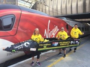 A cool run for the Wolverhampton Bobsled team with Virgin Trains