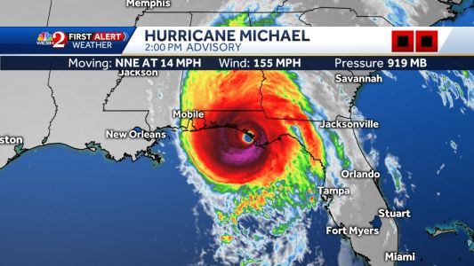 Live coverage: Hurricane Michael Michael makes landfall