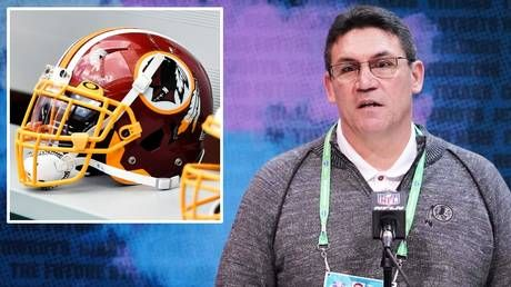 'It would be awesome': Washington head coach Ron Rivera wants Redskins' name change BEFORE the start of the 2020 NFL season