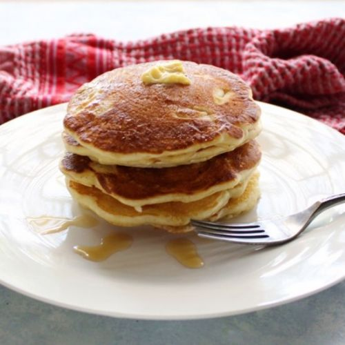 Apple Nutmeg Pancakes