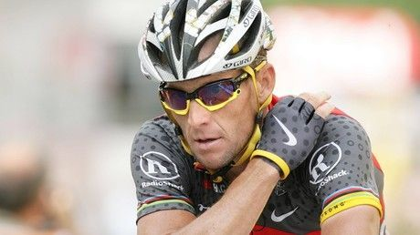 US cyclist Lance Armstrong hospitalized after bike crash