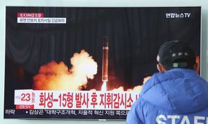 North's missile frustrates South Korea's Olympic preparation