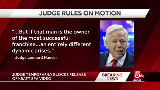 Rules set for release of video evidence in Kraft's prostitution case