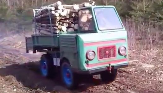 This Cute Little East German Truck Has A Higher Payload Rating Than A Ford F-250