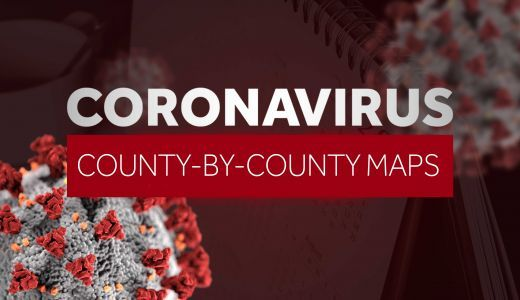 COVID-19 maps of Missouri, Kansas: Latest coronavirus cases by county