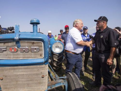 Why Ontario's politicians took a break from fighting about the notwithstanding clause to go ride tractors in a farm field