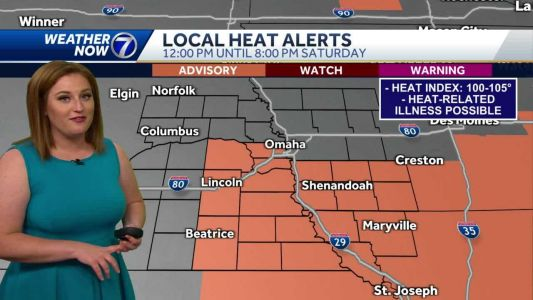 Dangerous heat to continue through the weekend