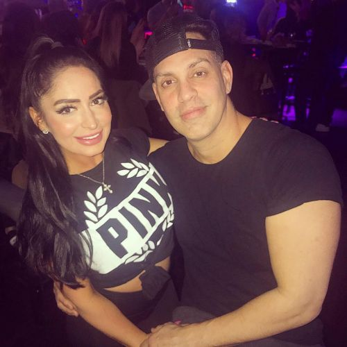 Newlyweds Are Here! 'Jersey Shore' Star Angelina Pivarnick and Chris Larangeira Tie the Knot