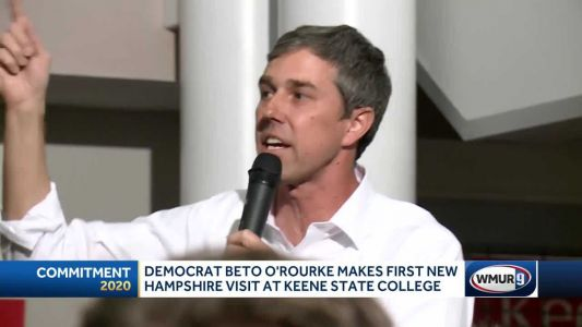 Beto O'Rourke makes NH visit as presidential candidate