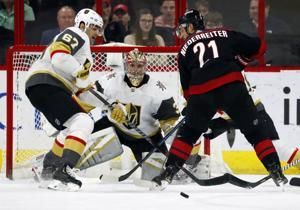 Martinook leads Hurricanes to 5-2 win over Golden Knights