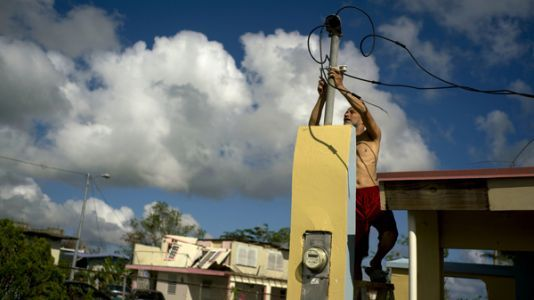 Puerto Rico's Governor Announces Plan To Privatize Island's Troubled Electric Utility