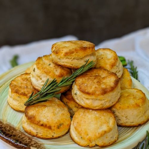 Rosemary Asiago Two Bite Biscuits