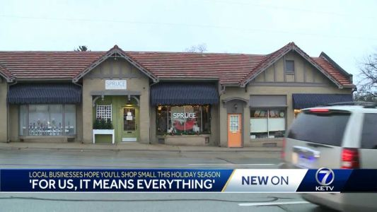 Local shoppers go small businesses