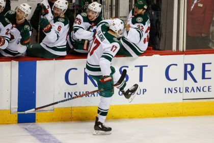 Dubnyk Stands Strong In Wild's 3-1 Win Over Coyotes