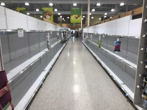 Data shows 8,300% run on toilet paper. And when's the best time to avoid grocery store crowds?