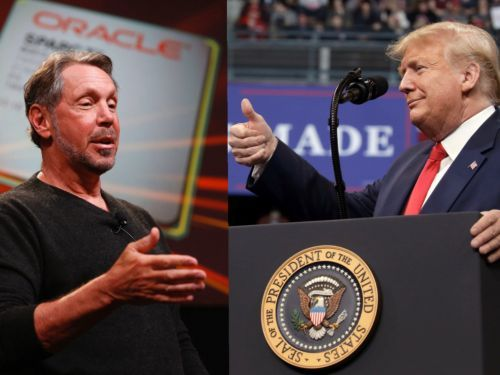Oracle billionaire Larry Ellison is holding a fundraiser for Donald Trump, where supporters can pay $100,000 for a golf outing and photo op with the president