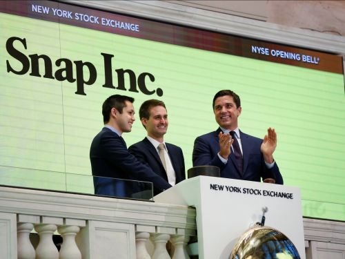 Snap is rallying after Credit Suisse raises its price target