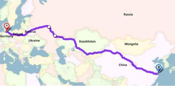 Shortest China-Europe highway gets nod from Russia