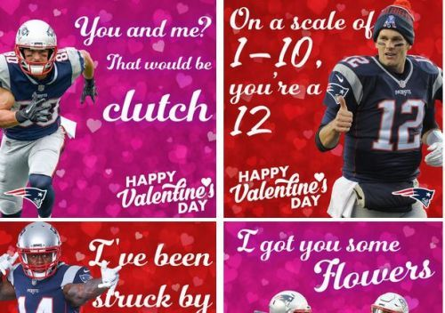 Patriots will help you spread the love this Valentine's Day