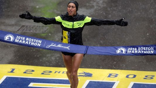 Boston Marathon: American Desi Linden wins woman's race; Japan's Yuki Kawauchi wins for men