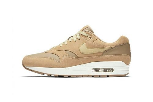"The Nike Air Max 1 Premium Receives a ""Khaki/Team Gold-Mushroom-Sail"" Makeover"