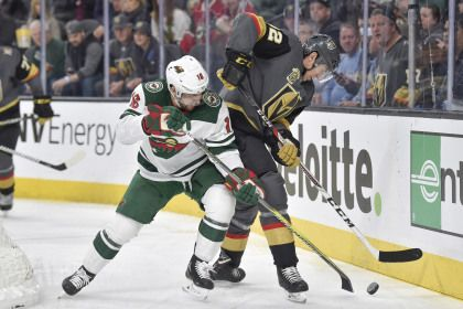 Zucker Leads Wild To 4-2 Win In Vegas Homecoming