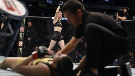 UFC 245: Irene Aldana scores MASSIVE one-punch knockout to hand Ketlen Vieira first loss, potentially secures title shot