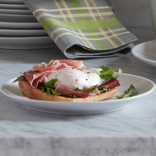 Prosciutto and Poached Egg Tartine