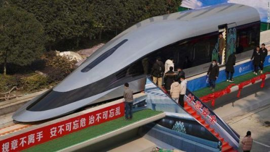 China Is Working On A 500 MPH Maglev Train