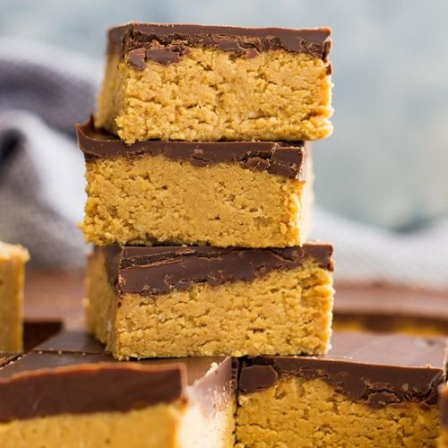 No Bake Chocolate Peanut Butter Bar