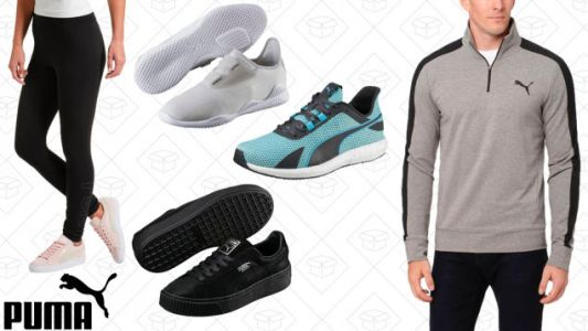 At Least Look Like You're Trying to Keep Your Resolutions With This PUMA Sale