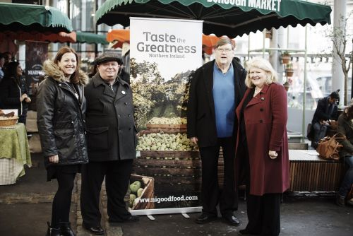 Tourism Ireland brings a 'feast from Northern Ireland' to London's Borough Market