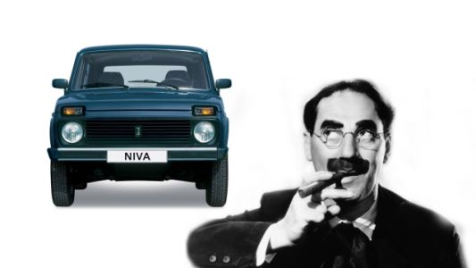 Quick Question: Is the Lada Niva the Car That Most Resembles Groucho Marx?
