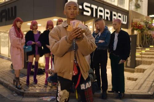 There's a lot going on in Jaden Smith's new music video