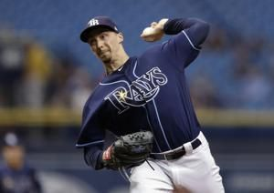 Rays' Snell has no-hitter through 6 innings against Indians