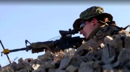 U.S. Marines welcome first female infantry officer