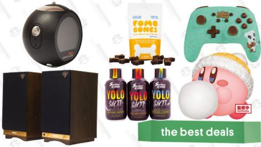 Saturday's Best Deals: National CBD Day, Snowy Kirby Figurines, Klipsch Speakers, PowerA Controllers, and More