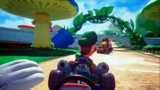 Mario Kart VR hands-on - the best way to tour the Mushroom Kingdom