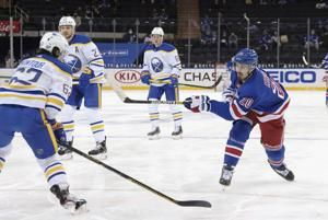 Buchnevich, Shesterkin lead Rangers to 3-2 win over Sabres