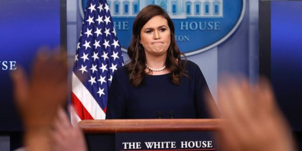 Sarah Huckabee Sanders condemns 'evil act of senseless violence' after newspaper office shooting in Maryland