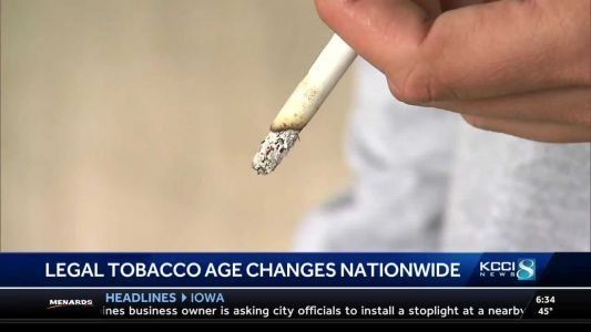Should Iowa raise the minimum age to purchase tobacco?