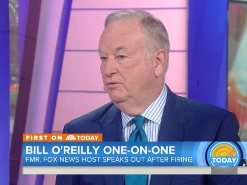 'Don't be sarcastic': Matt Lauer confronts Bill O'Reilly about sexual harassment claims in tense interview