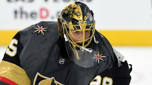 Golden Knights' goaltender Marc-Andre Fleury records 400th career win