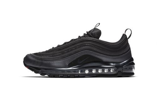 "Nike Introduces the Air Max 97 in Black & ""University Red"""