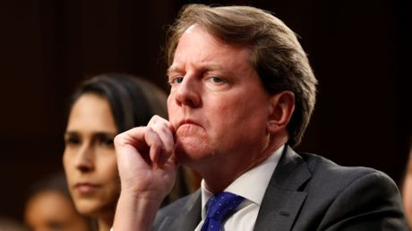 House Committee vows to hold ex-Trump counsel McGahn in contempt over refusal to testify