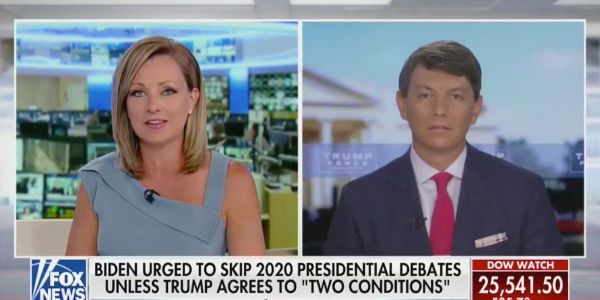 Even a Fox News host refused to listen to the Trump campaign's latest attack on Biden